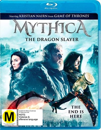 Mythica: The Dragonslayer on Blu-ray