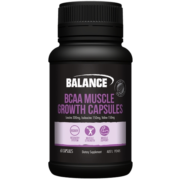 Balance BCAA Muscle Growth Capsules (60 caps)