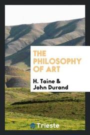The Philosophy of Art by H Taine image