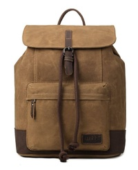 Troop London: Nomad Canvas Backpack - Camel