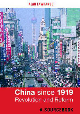China Since 1919 - Revolution and Reform image