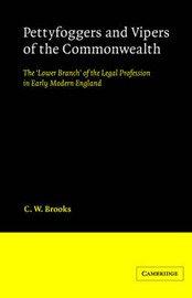 Cambridge Studies in English Legal History by C.W. Brooks