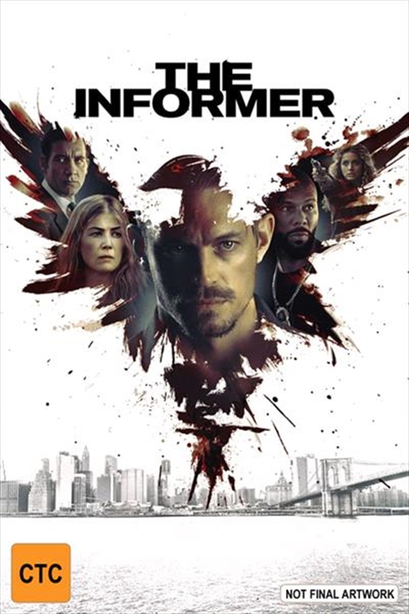The Informer on DVD image