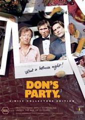 Don's Party (2 Disc) on DVD