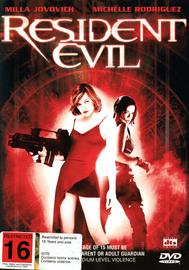 Resident Evil on DVD image
