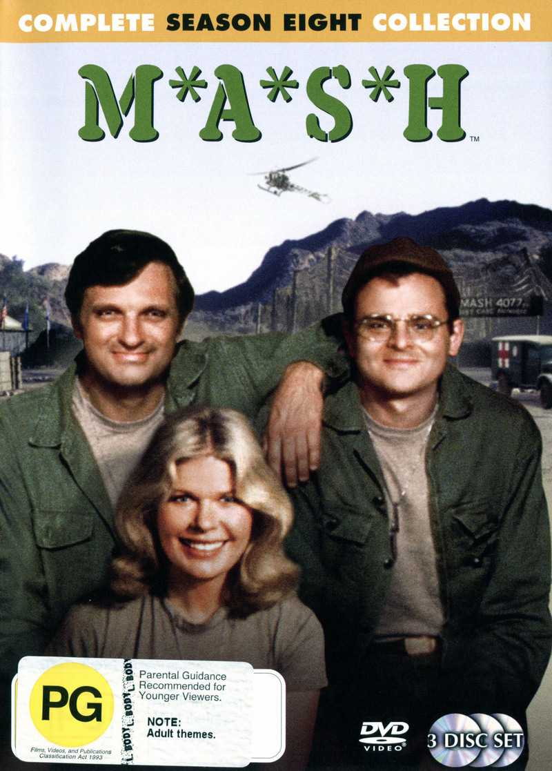 MASH - Complete Season 8 Collection (3 Disc Set) (New Packaging) on DVD image