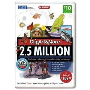 ClipArt & More 2.5 Million for PC Games