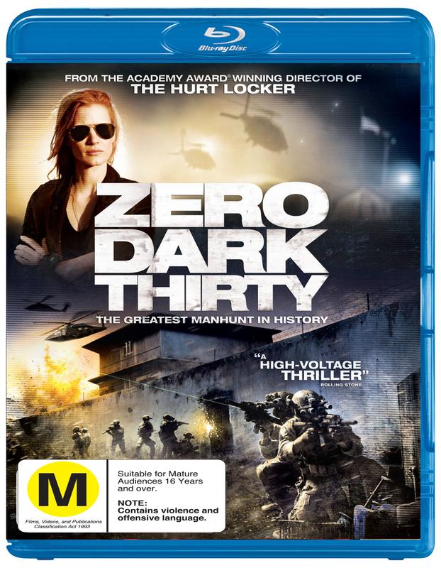 Zero Dark Thirty on Blu-ray