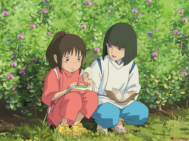 Spirited Away on Blu-ray image