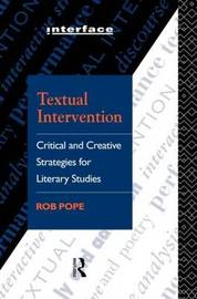 Textual Intervention by Rob Pope