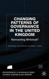 Changing Patterns of Government by David Marsh