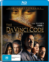 The Da Vinci Code - 10th Anniversary Edition on Blu-ray