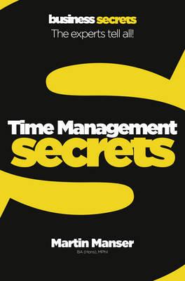Time Management Secrets by Martin Manser image