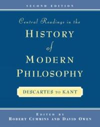 Central Readings in the History of Modern Philosophy by Robert Cummins image