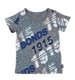 Bonds Short Sleeve Standard T-Shirt - Bonds Retro Logo (12-18 Months)