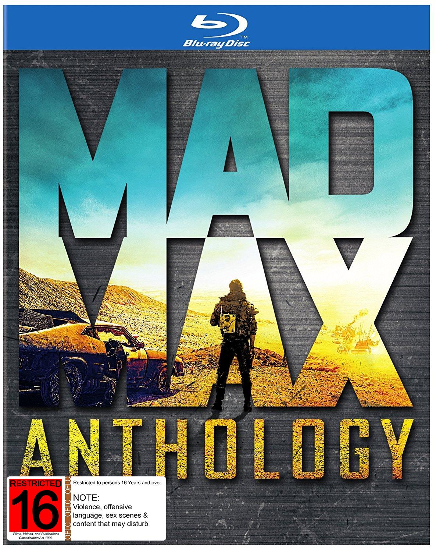 Mad Max Anthology on Blu-ray image