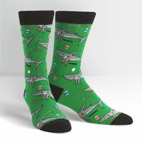 Men's - Pool Shark Crew Socks
