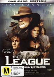 The League Of Extraordinary Gentlemen on DVD