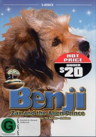 Benji - Zax And The Alien Prince: The Complete TV Series (2 Disc Set) on DVD image
