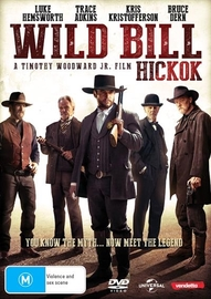 Wild Bill (Hickok) on DVD