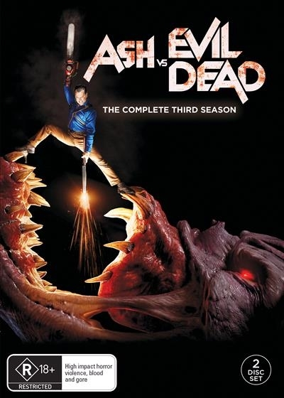 Ash V Evil Dead: Season 3 on DVD