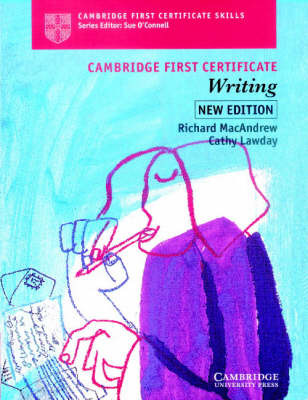 Cambridge First Certificate Writing Student's Book by Richard MacAndrew image