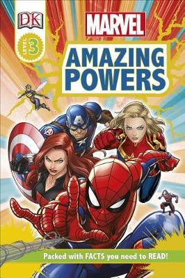Marvel Amazing Powers [rd3] by Catherine Saunders