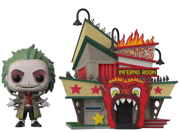 Beetlejuice: Dante Inferno - Pop! Town Diorama Set