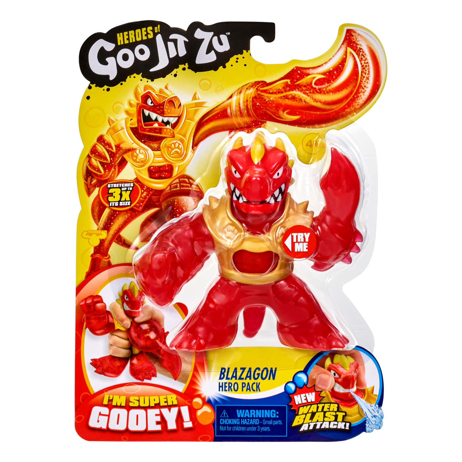 Heroes of Goo Jit Zu: Hero Pack - Blazagon Dragon image
