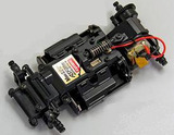 Kyosho cMZ-02 EX-MM Electric Powered 1/27 Mini-Z Racer Chassis and Transmitter Set