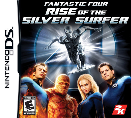 Fantastic 4: Rise of the Silver Surfer for Nintendo DS
