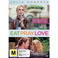 Eat Pray Love on DVD
