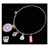 Marvel Captain America Stainless Steel Expandable Bracelet
