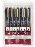 Studio Series Colored Micro-Line Pen Set (Set of 7)
