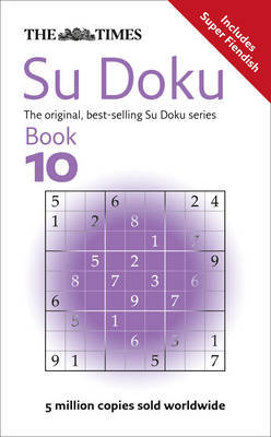 The Times Su Doku Book 10 by Sudoku Syndication