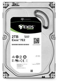 "2TB Seagate: Exos 7E2 [512n, 3.5"", 6Gb/s SATA, 7200RPM] - Enterprise Hard Drive"