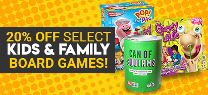 20% off select Family & Kids Games!