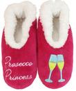 Slumbies Prosecco Princess Pairables Slippers (S)