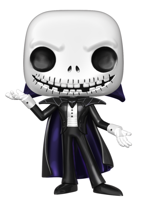 Nightmare Before Christmas - Vampire Jack (Metallic Ver.) Pop! Vinyl Figure