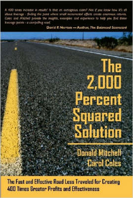 The 2,000 Percent Squared Solution by Donald Mitchell image