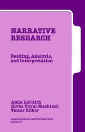 Narrative Research by Amia Lieblich image