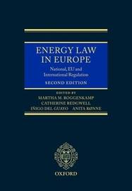 Energy Law in Europe: National, EU and International Regulation image