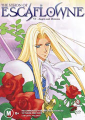 Escaflowne - Vol. 3: Angels And Demons on DVD