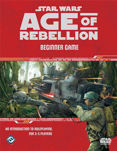 Star Wars: Age of Rebellion RPG Beginner Game by Fantasy Flight Games image