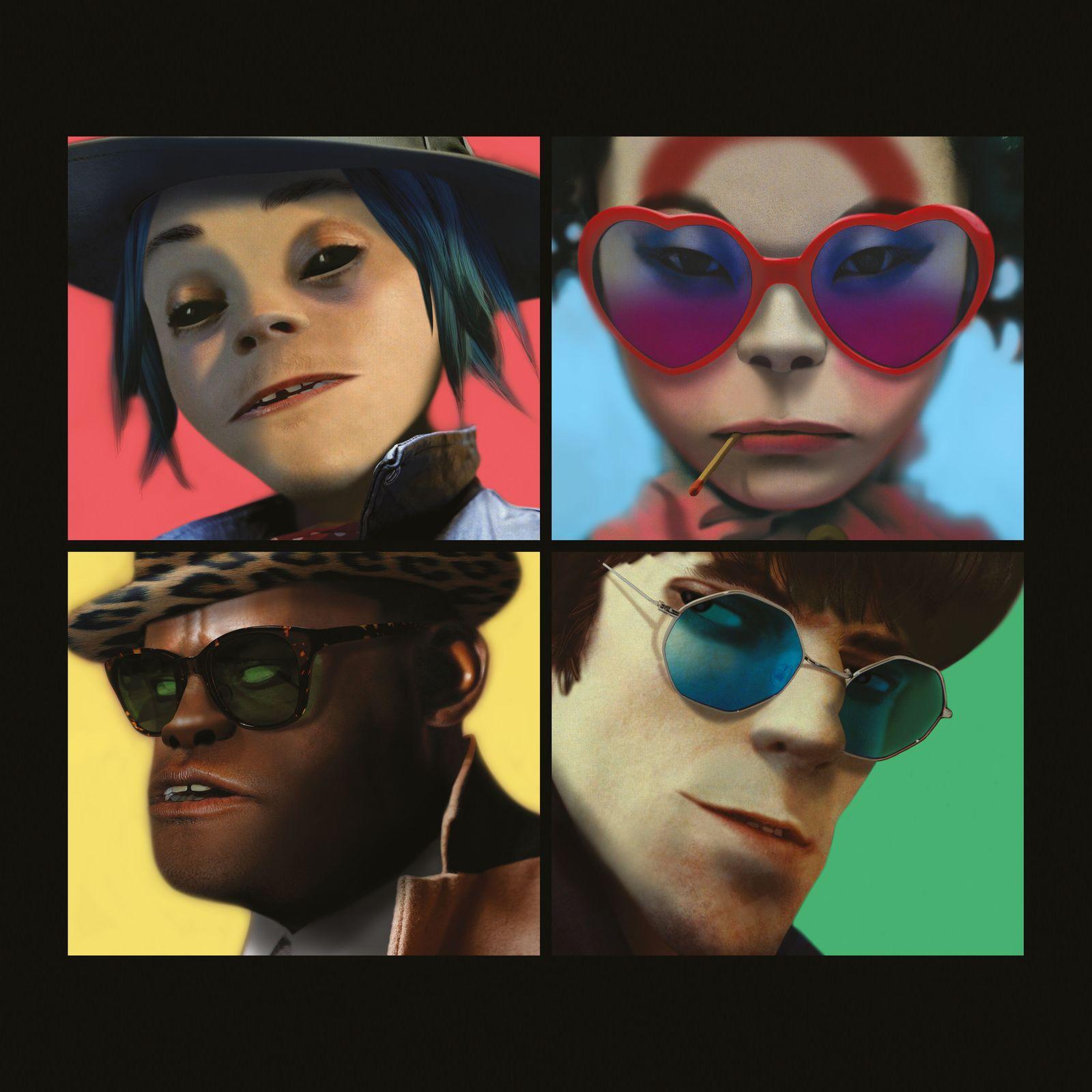 Humanz (2CD Deluxe Edition) by Gorillaz image