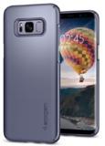 Spigen Galaxy S8 Thin Fit Case Gold MapleSpigen Galaxy S8 Thin Fit Case Orchid Grey