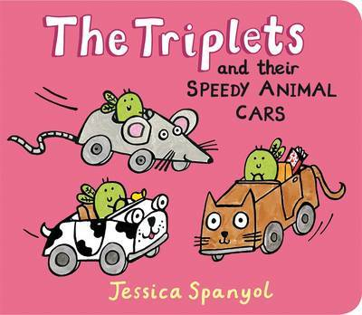 The Minibug Triplets And Their Little An by Jessica Spanyol