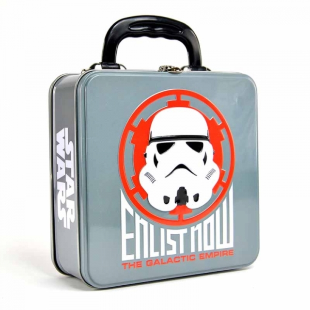 Star Wars: Tin Tote (Embossed) (Stormtrooper Icon) image