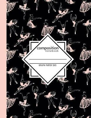 Composition Notebook Graph Paper 5x5 by In Motion Paper Press