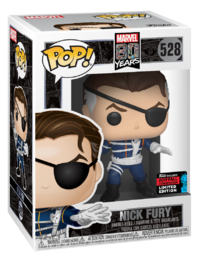 Marvel: 80th - Nick Fury (First Appearance) Pop! Vinyl Figure image